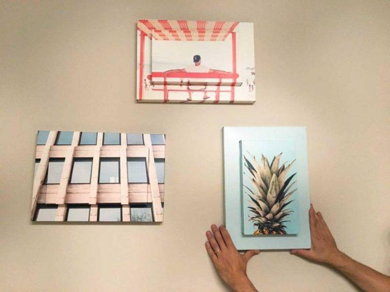 Come appendere i quadri senza rovinare i muri