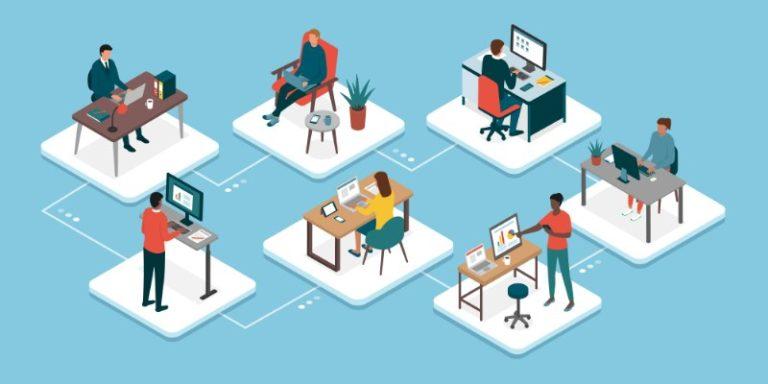 Organizzare le postazioni per lo Smart working